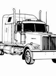 Kleurplaten Vrachtwagen Topkleurplaatnl
