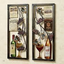 wine glass wall decor new valley vineyard metal wall art set