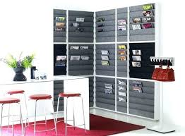wall mounted office organizer system. Wall Mounted Organizer Office System Black Magazine Rack . H