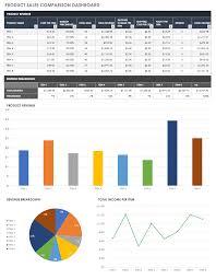 Cost Chart Template Free Price Comparison Templates Smartsheet
