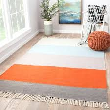 tahoe orange blue striped indoor outdoor area rug 50 x 80 brown and blue area rugs blue green brown area rugs