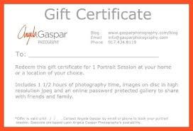 Certificate Template Photoshop Photography Gift Certificates No Comments Certificate Template
