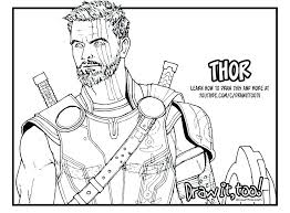 Avengers Coloring Page Trustbanksurinamecom