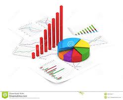 Financial Charts Stock Illustration Illustration Of