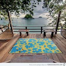 creative of waterproof outdoor rugs 18 decorative outdoor area rugs home design lover