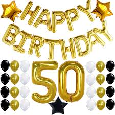 50th birthday party decorations. Image Is Loading 50th-BIRTHDAY-PARTY-DECORATIONS-KIT-Happy-Birthday-Foil- 50th Birthday Party Decorations ,