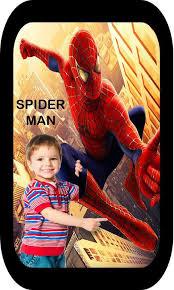 the spiderman photo frames editor app 2018 الملصق