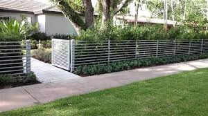front yard fence ideas curb appeal
