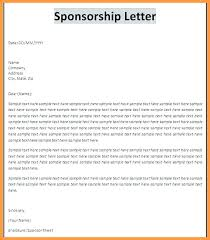 Event Sponsorship Letter Example Custom Event Proposal Template Free Concept Crugnalebakeryco