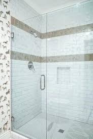 glass accent tile in shower accent tile shower bathroom subway tile accent white shower tiles with