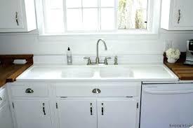 retro kitchen sink best of old porcelain sinks vintage white drop in drainboard kitchen sinks porcelain sink with drainboard in