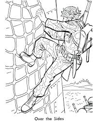 Army White Coloring Pages Print Us Book Page Printable Download Free
