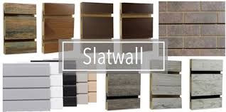 wood slat wall. Slatwall Panels Are Made Out Of A Medium Density Fiberboard And Either 48\ Wood Slat Wall