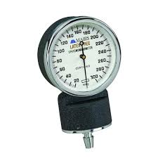 aneroid manometer. mabis aneroid manometer for latex free products in black n