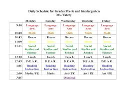 College Schedule Template Enchanting Daily Schedule Template Free Simple Resume Examples For Jobs