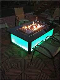 20 blue glass fire pit ideas glass