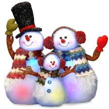 outdoor snowman decorations opportunities
