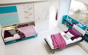Single Bedroom Interior Design Turquoise Furniture Accent For Beautiful Teens Bedroom Interior