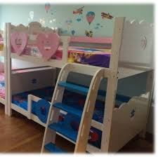kids bedroom furniture singapore. PJT: Nautical And Lovely Hearts Double Deck Bed Kids Bedroom Furniture Singapore