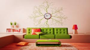creative living room wall clock design ideas decorating with large wall clocks