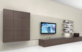 Living Room Shelves And Cabinets Fabulous Design Ideas Of Home Living Room With Big Tv On Wall