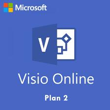 Microsoft Visio Microsoft Visio Online Plan 2 Non Profit Monthly Subscription License