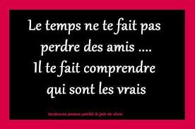 French Quotes About Friendship Cool Quote About Friendship With Passage Of Time You Don't Lose Friends