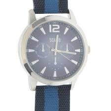 soulcal soulcal canvas watch mens watches