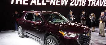 2018 chevrolet traverse redesign. plain redesign 2018 chevrolet traverse 3 row crossover gets full redesign new engines in  detroit to chevrolet traverse redesign n
