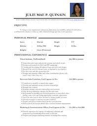 Resume Samples For Teachers Resume For Study