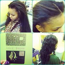 Braid Pattern For Sew In With Leave Out Adorable SewIn With Leaveout Artisan Hair Company LLC