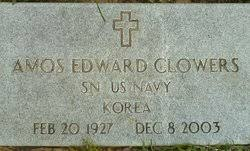 """Amos Edward """"Ed"""" Clowers (1927-2003) - Find A Grave Memorial"""