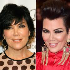 photo allure kris jenner s beauty evolution how the momager s hair and makeup