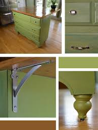 diy kitchen island from dresser. Check Out The Dresser To Kitchen Island Update. Diy From