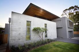 Concrete Prefab Homes Exposed Concrete Walls The 24 House In Dunsborough Australia