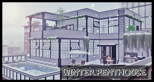 Winter PentHouse at Lily Sims » Sims 4 Updates