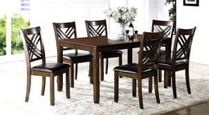 espresso dining room chairs table
