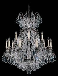 schonbek lighting is exquisite addition to any space schonbek lighting versailles collection chandelier crystal and