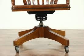 vintage office table. Oak Swivel Vintage Library Or Office Desk Chair, Adjustable Height \u0026 Tilt Table