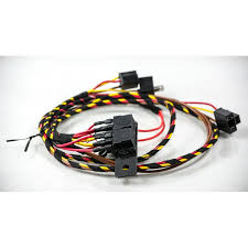 classic mini cooper headlight headlamp upgrade lighting loom harness classic mini uprated headlight wiring loom harness