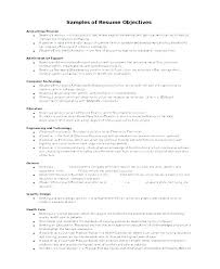 Examples Of Objectives On Resumes Stunning Receptionist Resume Objective Mkma