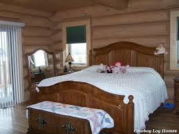 Log Bedroom Suites First Floor Master Suites In Log Home Plans Cowboy Log Homes