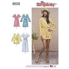 Jumpsuit Pattern Beauteous Amazon Simplicity Pattern 48 Misses' Jumpsuit And Dress SIZE
