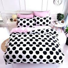 black and white polka dot bedding black and white polka dot bedding polka dot bedding beautiful black white and pink polka dot