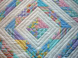 entrancing diamond patchwork baby quilt for baby bedroom ... & Entrancing Diamond Patchwork Baby Quilt For Baby Bedroom Decorating Design  Ideas Adamdwight.com