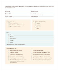 Natural Birth Plan Template 60 Birth Plan Worksheet Word 31 Best Because Someday Images On