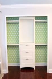simple closet ideas for kids. Love The Wallpapered Closet Idea. - For Kids Closets Simple Ideas