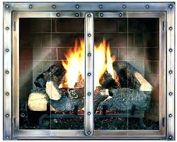 fireplace glass doors replacement fireplace glass replacement fantastic fireplace glass doors replacement about remodel stylish home