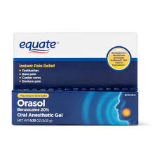 Orasol Dye Color Chart Equate Orasol Oral Anesthetic Gel 0 33 Oz Walmart Com