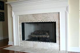 travertine tile fireplace surround marble fireplace surround